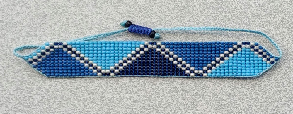 Tricolor Blue
