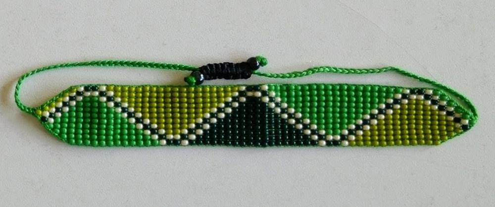 Tricolor Green