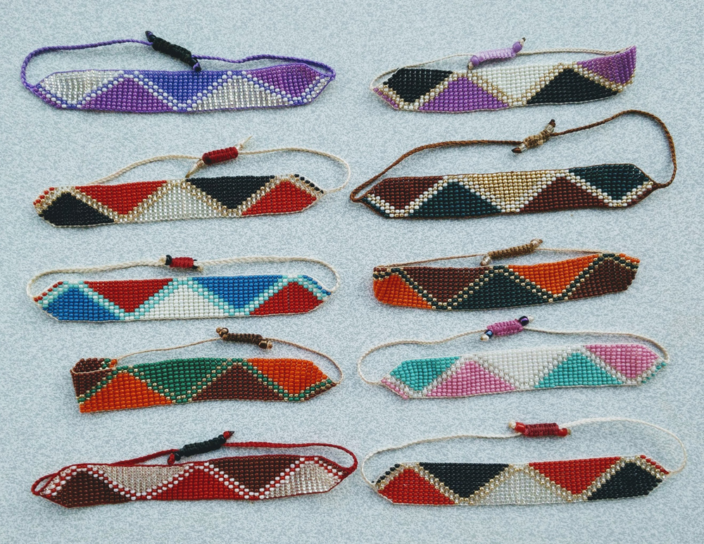 Triangular Bracelets