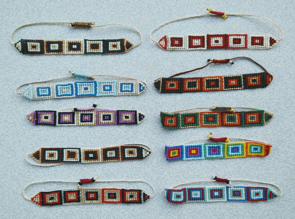 Squared Bracelets